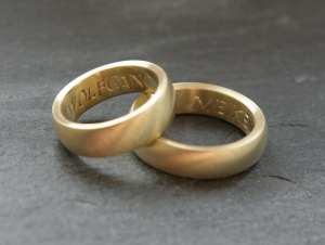Wedding Rings - Robert Wallis